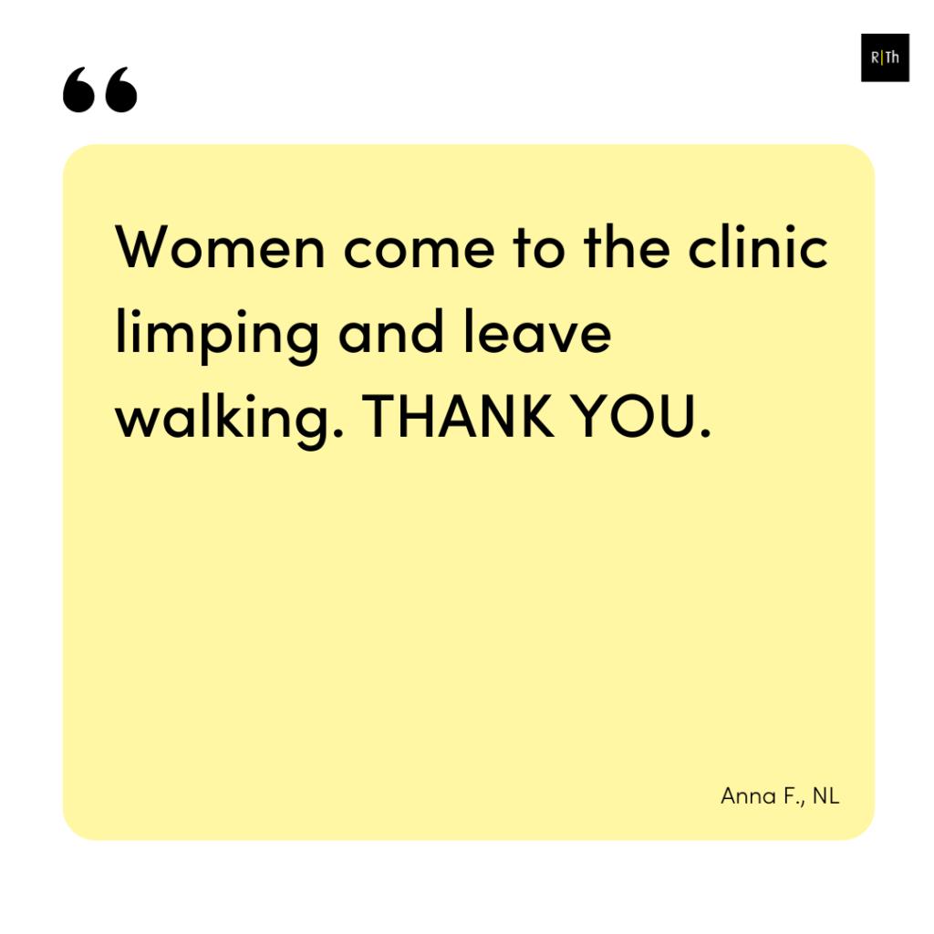 Testimonial Pelvic girdle pain online course 2