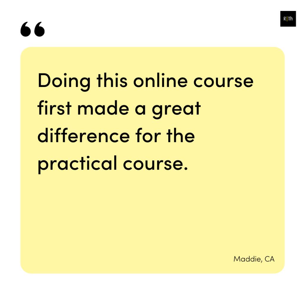 Testimonial Pelvic girdle pain online course 4