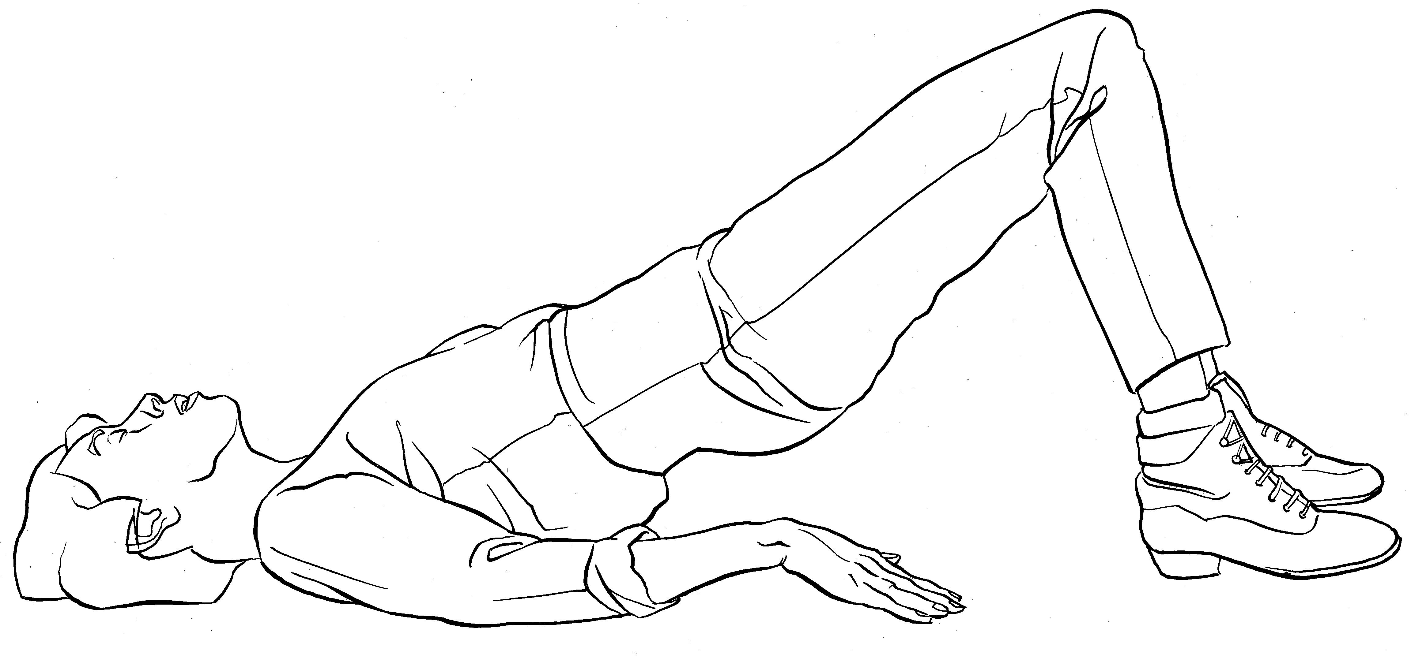 bridge for pelvic girdle pain